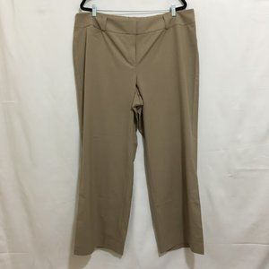 TALBOTS tailored fit dress work trouser pants AN13